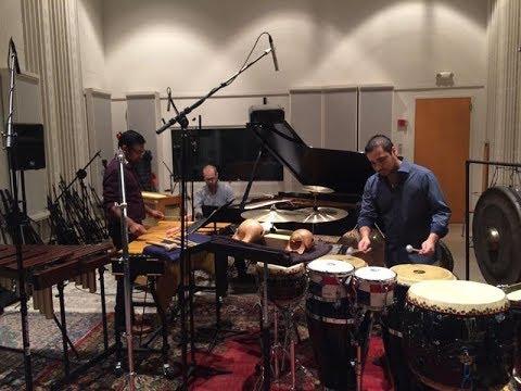 """Carlos Camacho and Three by Radio performs  """"Conmutaciones"""" by Cuban composer Leo Brouwer."""