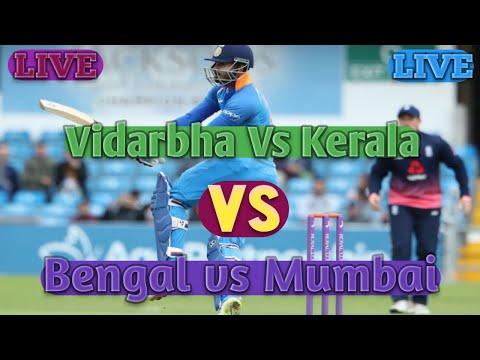 🔴Vidarbha Vs Kerala🔴Bengal vs Mumbai T20 Match Live Syed Mushtaq Ali Trophy 2019 VID VS KER Ben v