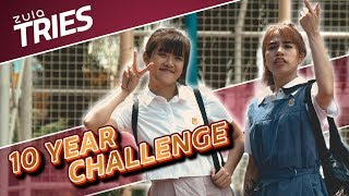 10 Year Challenge In Real Life | ZULA Tries | EP 16