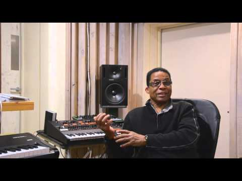 Herbie Hancock with the ARP ODYSSEY