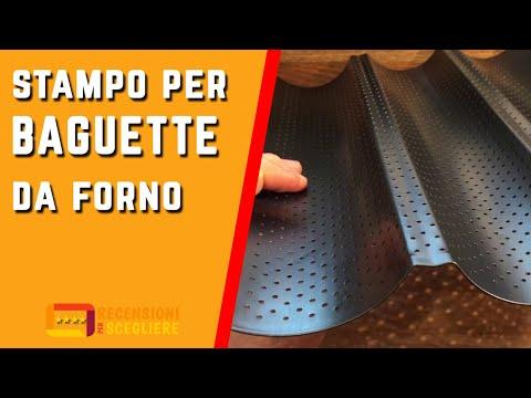Recensione Stampo per Baguette da forno