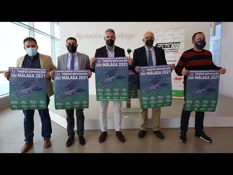 Presentación del Campeonato Provincial de Automovilismo Trofeo Diputación de Málaga 2021