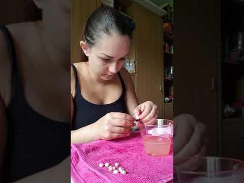 Monsterauster. Vergleich zu Einzelauster Perlen