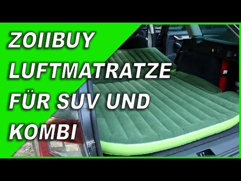 Schlafen im Kombi mit SUV Luftmatratze 🛌Skoda Octavia 3