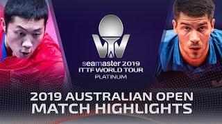 Xu Xin vs Patrick Franziska   2019 ITTF Australian Open Highlights (1/2)