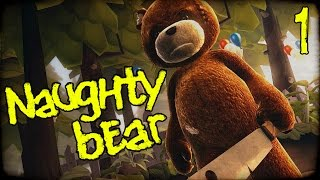 "NAUGHTY BEAR Gameplay Part 1 - ""Grand Theft Teddy Bear!!!"" PS3 Walkhtrough"