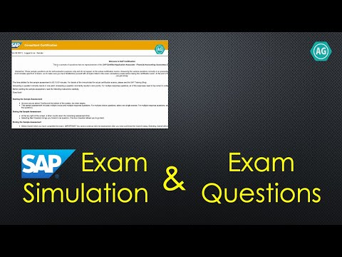 SAP Certification Exam Questions and Exam Simulation - YouTube