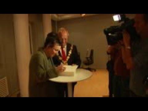 Vidéo de Olga Tokarczuk