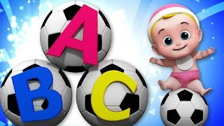 ABC Soccer Song   Nursery Rhymes Song For Children Video For Kids And Babies