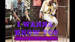 David Archuleta & Miley Cyrus - I Wanna Know You - Lyrics/Download [HQ]