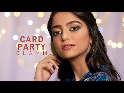 Party Makeup | Party Makeup Tutorial | Gold Makeup Look for Party | MyGlamm