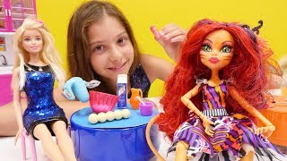 Монстер Хай, Эвер Афтер и Барби - конкурс