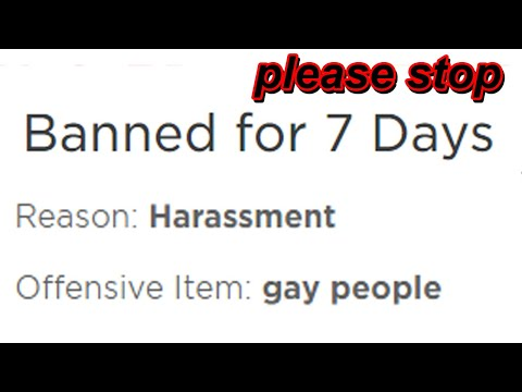 Roblox banned my friends...