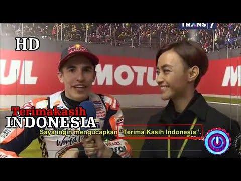 Marc Marquez Juara Dunia - Ucap Terima Kasih Untuk Indonesia - Fans Indonesia