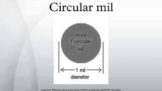 Circular mil