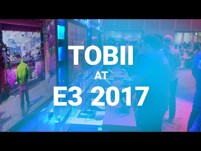 Tobii eye tracker - Best Hardware of E3 2017 - WINNER