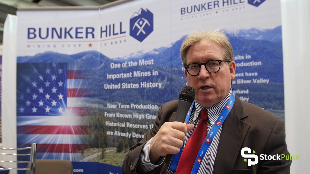 Bunker Hill Mining Catalyst Clip with President & CEO Bruce Reid at the 2018 PDAC in Toronto