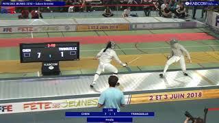 FDJ 2018 - SD - Finale Tranquille vs Chen