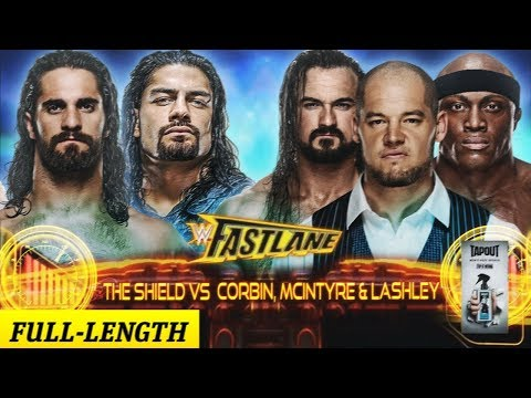 The Shield Vs Baron Corbin Drew Mcintyre And Bobby Lashley Wwe