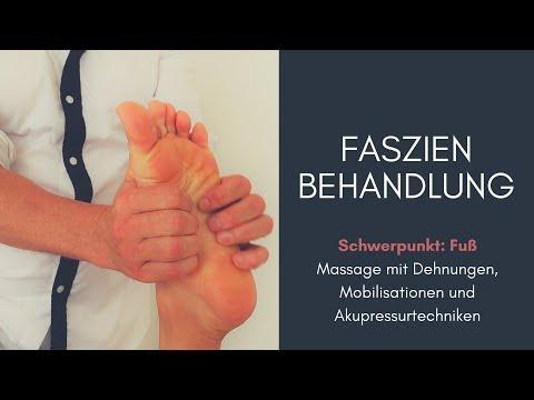 Die Behandlung der Ansätze auf den Gelenken der Finger der Beine