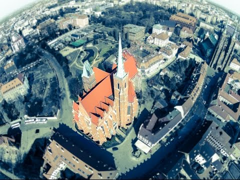 A Day in Wroclaw, Poland - Drone HD -sky