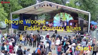 Boogie woogie Fiddle Country Blues - Coach
