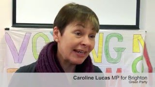 Caroline Lucas Mp  Green Party  - Pr Alliance - Interview