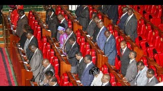 Standoff in the Senate as NASA and Jubilee Senators take on each other over election of Speaker