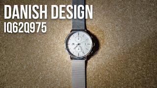 Test : Danish Design Chrono (IQ62Q975), Une Montre Au Design Scandinave Classique / Minimaliste
