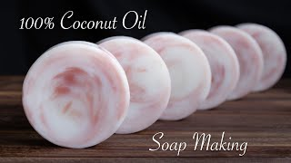 Coconut Oil Soap Making