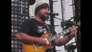 Zac Brown covering Crash Into Me (Dave Matthews Band cover)