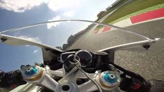 Catalunya with LD Moto Triumph Daytona 675 R 30/06/14 Session 6