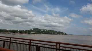 preview picture of video 'The Ava Bridge on the Irrawaddy'