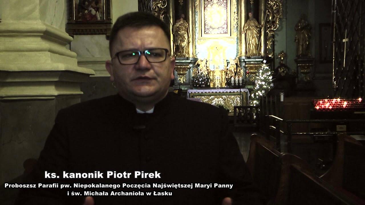 Życzenia ks. kan. Piotra Pirka