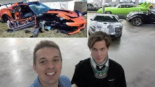 Curator Survives INTERNAL DECAPITATION After Horrible ZR1 Crash, Makes Miraculous Recovery!