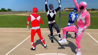 Lil Nas X Panini Official Dance Video Power Rangers Edition