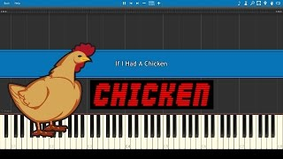 If I Had A Chicken - Kevin MacLeod (Two Pianos Tutorial/Synthesia) + Download