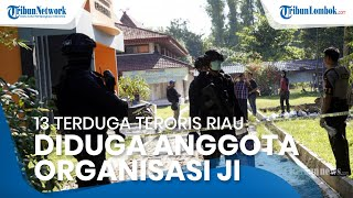 13 Terduga Teroris Riau Ditangkap Densus 88, Diduga Tergabung dalam Kelompok Jamaah Islamiyah