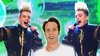 Jedward - Waterline (Ireland) Eurovision Song Contest 2012 - Review