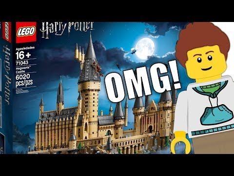 The ULTIMATE LEGO Harry Potter Set! 71043 Hogwarts Castle!