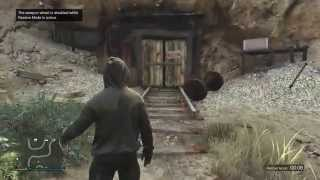 GTA 5 Online How To Find The Abandoned Mineshaft