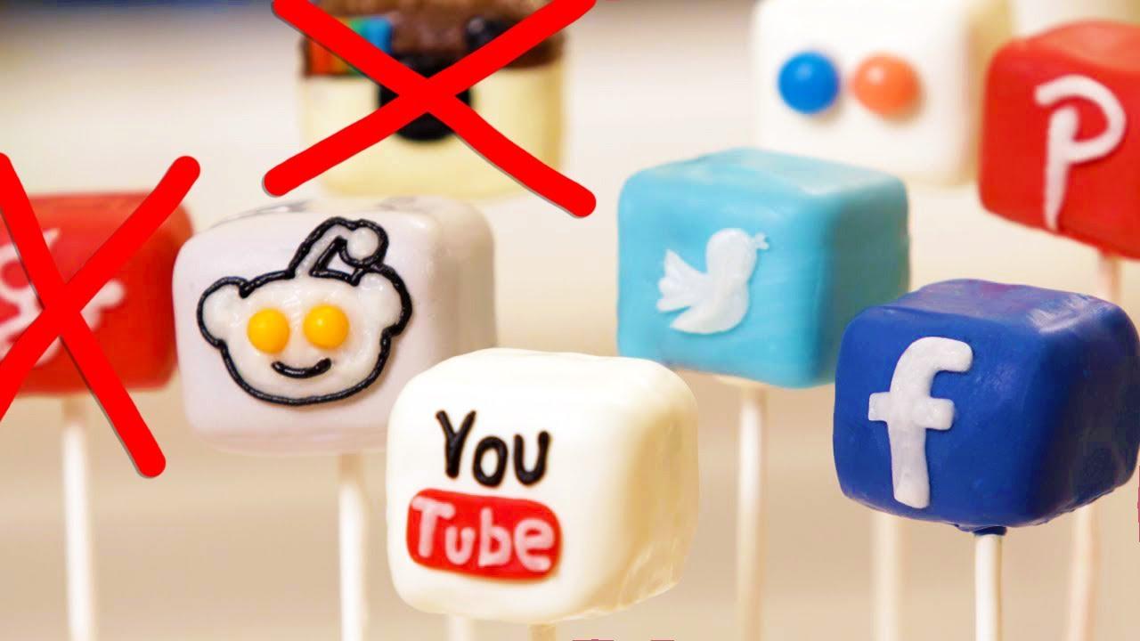 SOCIAL MEDIA CAKE POPS - NERDY NUMMIES thumbnail