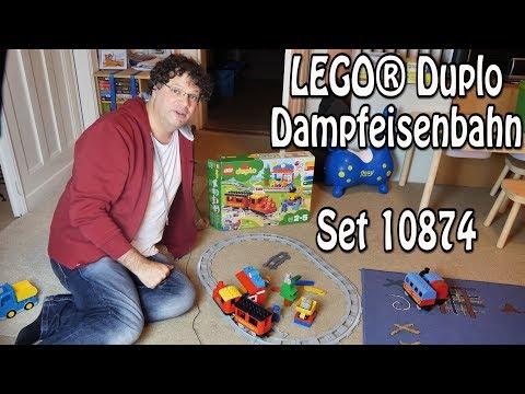 Test: Duplo Dampfeisenbahn (Set 10874)