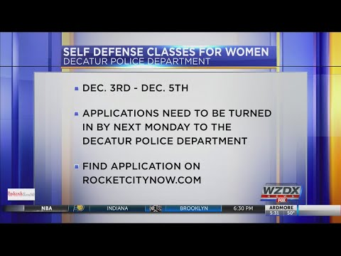 Decatur PD holding free self-defense class for women