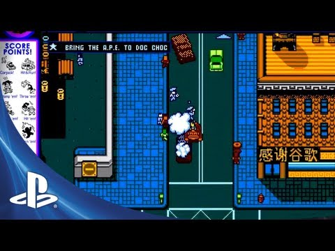 The Endless Classic Gaming References In This Amazing Retro City Rampage Trailer