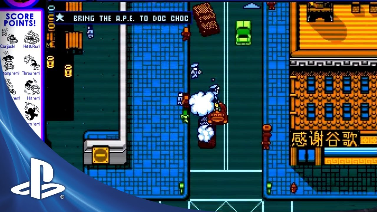 Launch Trailer: Retro City Rampage on PS3, PS Vita Tuesday