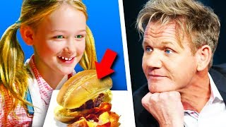 15 Times Gordon Ramsay Actually LIKED THE FOOD! (Part 2) - dooclip.me