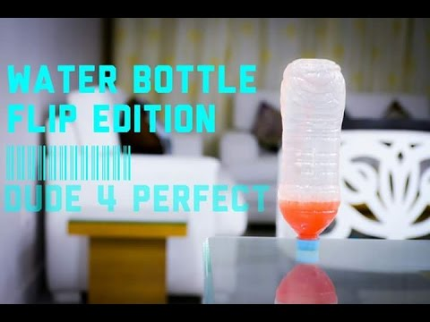 WATER BOTTLE FLIP EDITION| DUDE PERFECT
