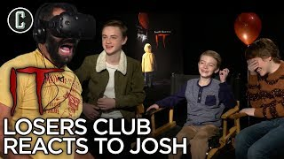 'It' the Movie Losers Club Reacts to Josh's VR