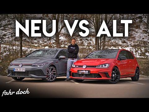 VW GOLF GTI Clubsport 7 vs 8 | DAS ULTIMATIVE DUELL! Review und Fahrbericht | Fahr doch
